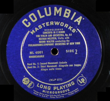 Columbia Record Label